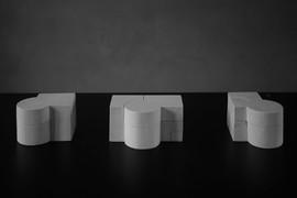 schlossarchitektur nr.1, 2 & 3 - julian jacobs -   nominierung bei der designtalente 2018 in köln