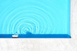 Quelle am Einstig des Beckens